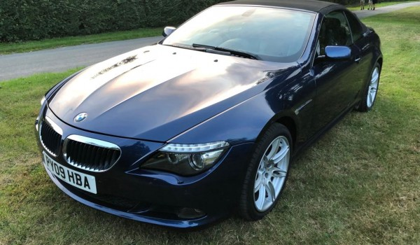 2009 BMW 6 Series 3.0 630i Edition Sport Convertible auto